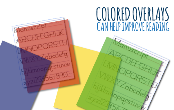 Colored Overlays Can Help Improve Reading